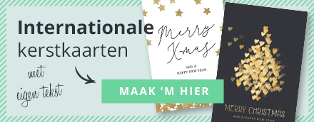 Internationale en Engelse kerstkaarten van Luckz